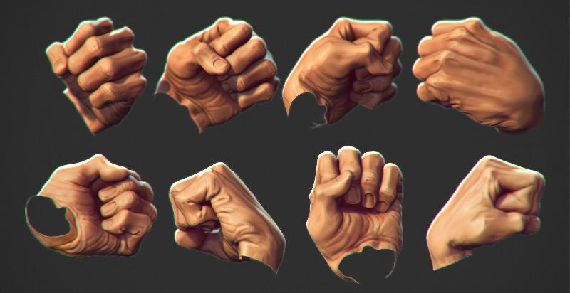 Iron fist red