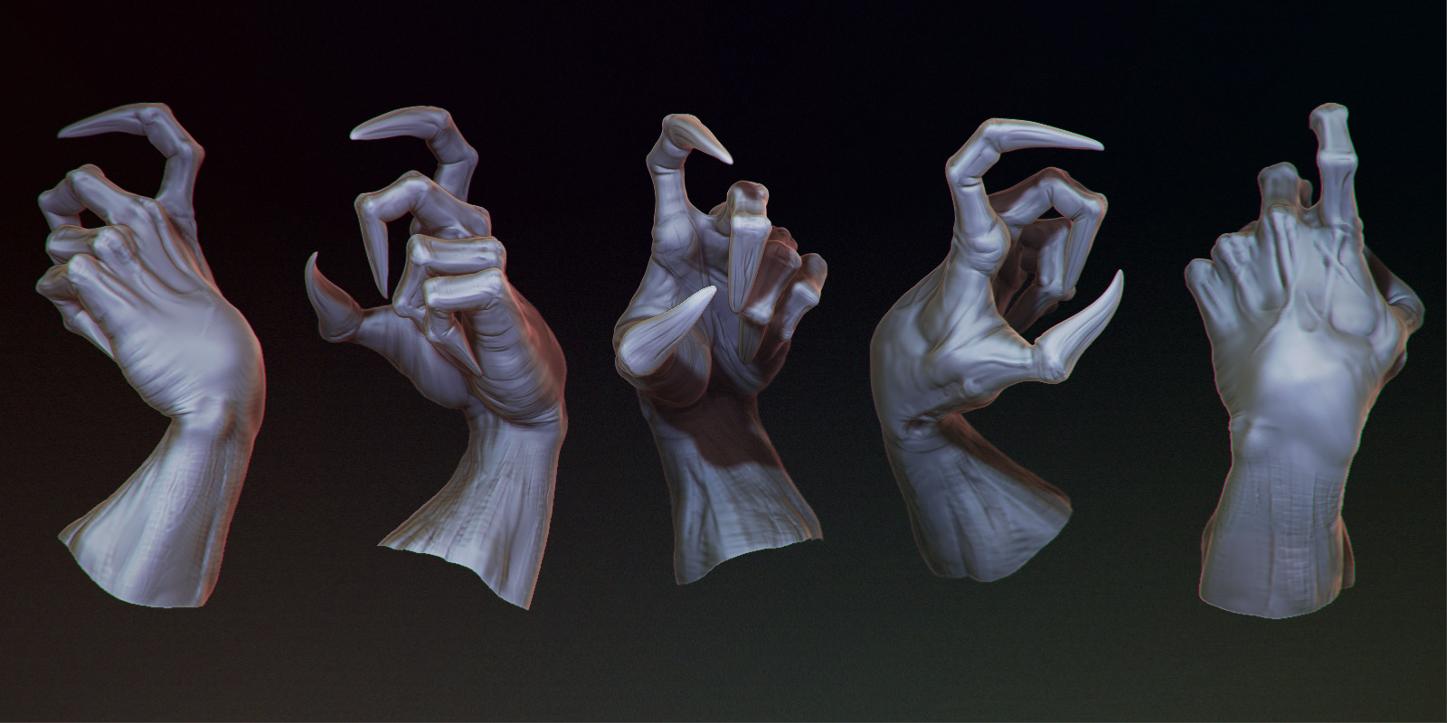making sculpting and posing an hand in zbrush nonacaso